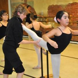 Premiere ballet mistresses, Ms. Danni Kelly