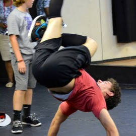 Break dancing class
