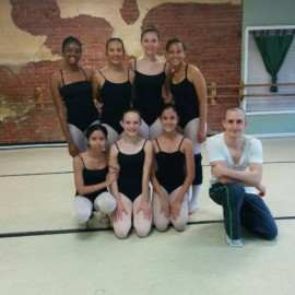 Josh Crespo at the latest ballet workshop