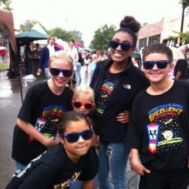 EGD students at LIVE on the Plaza 2013