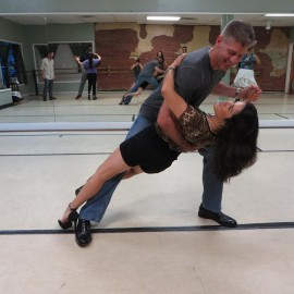 Shannon and Ed Primeau at Tango workshop